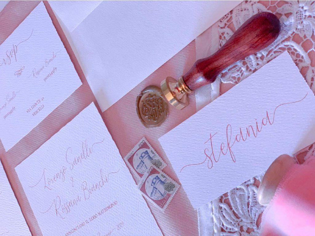 partecipazioni di nozze e segnaposto wedding stationery matrimonio by le cartasie