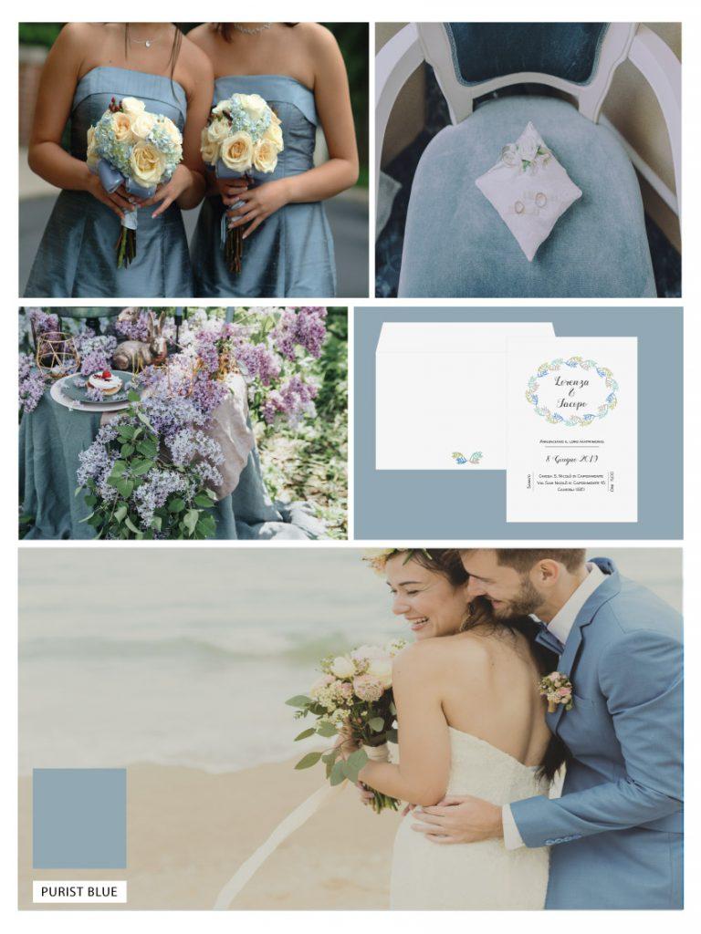 matrimonio palette PANTONE-2020-PURIST-BLUE Matrimonio: I Colori Di Tendenza Del 2020