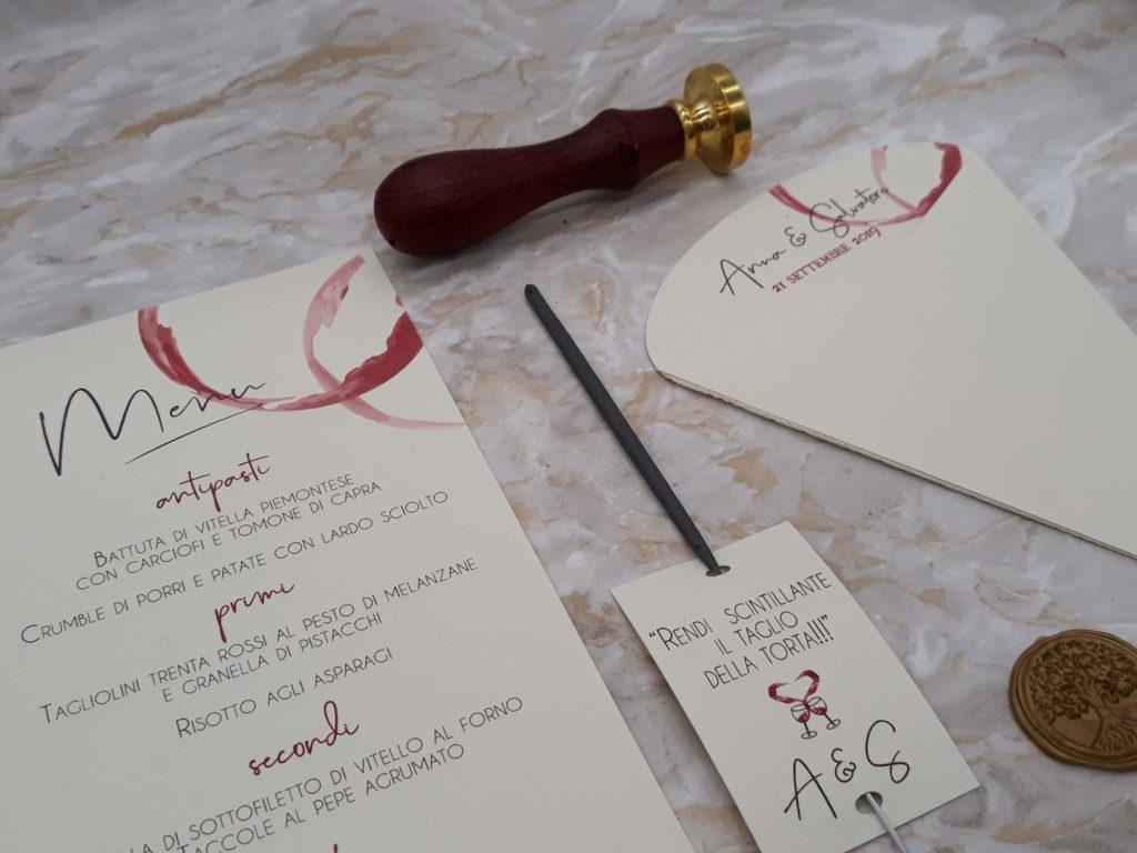 partecipazioni matrimonioscintille taglio torta matrimonio