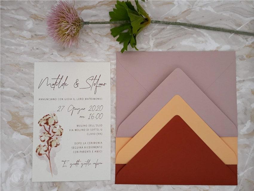 buste-colorate-partecipazioni-personalizzate-rosa-rame-cotone-ecologiche-nozze-