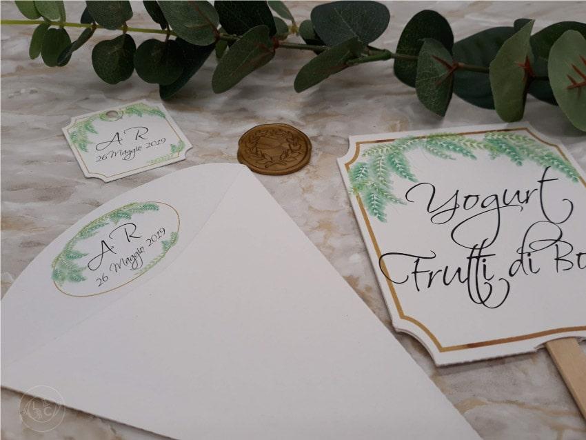 cartellini-segnagusto-etichette-confettata-e-coni-riso-personalizzati-online - foglioline