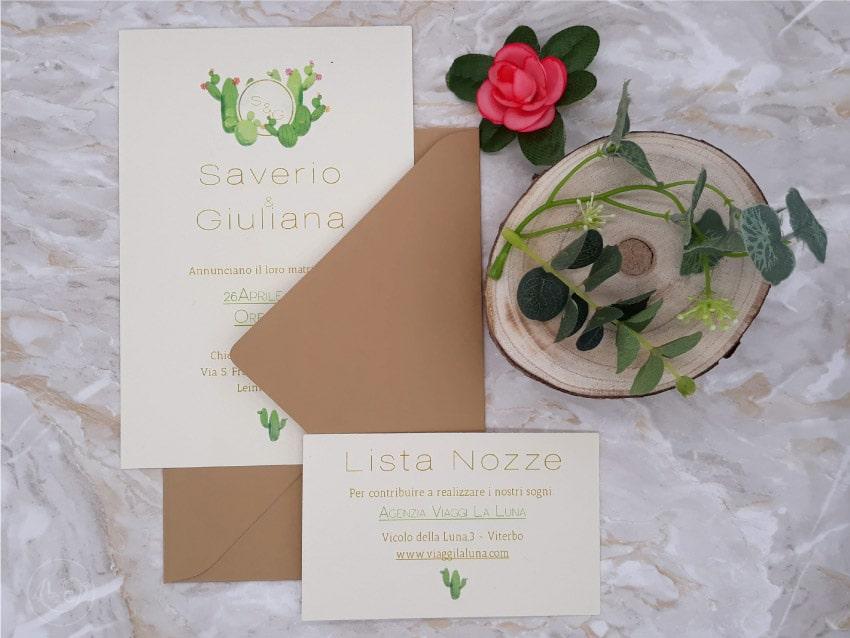Partecipazioni Matrimonio Novara.Partecipazioni Kraft Ecologiche Biella Novara Vercelli Torino Milano