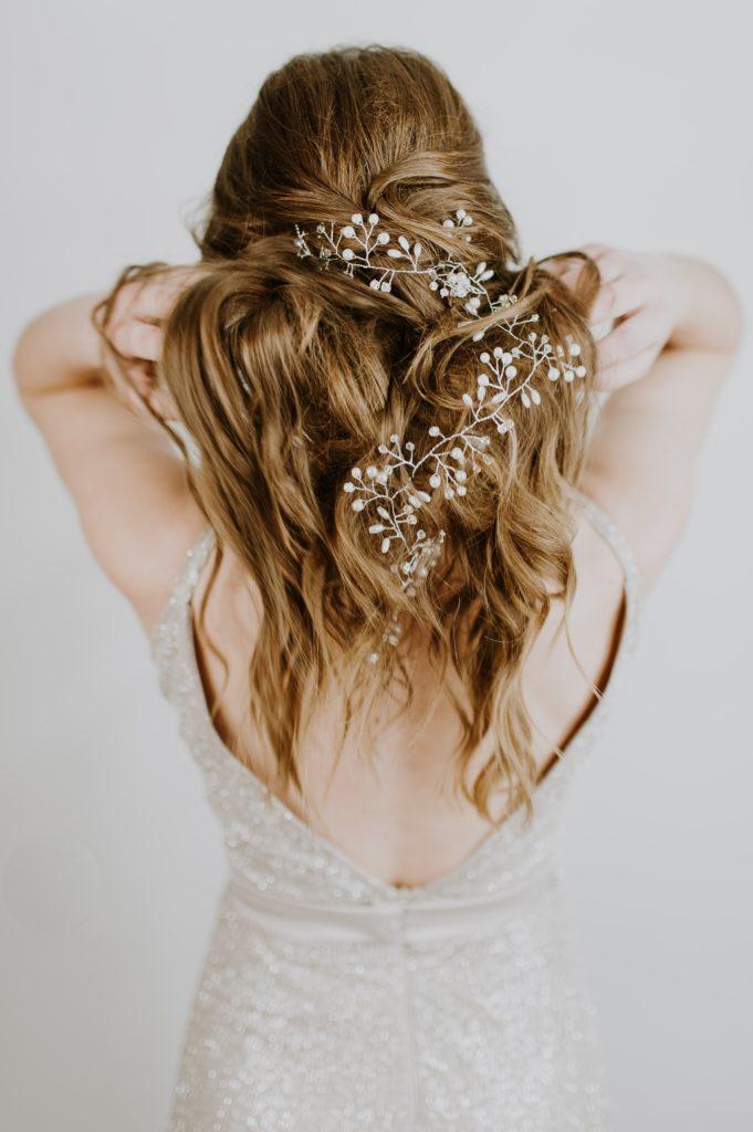 pioggia umidità trucco e capelli acconciature eleganti matrimonio