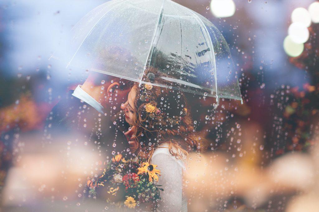 Pioggia matrimonio piano B
