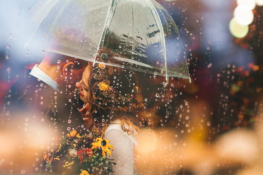 Matrimonio in caso di pioggia cosa come fare