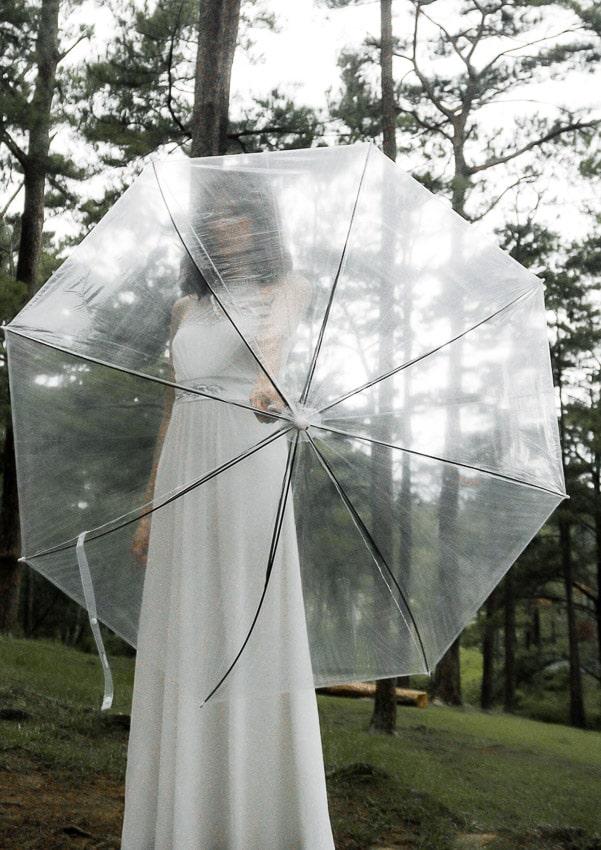 ombrello sposa pioggia matrimonio