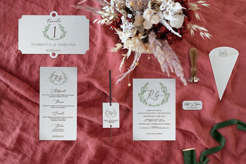 Wedding-stationery-Suite-coordinato-di-matrimonio--mattone-e-verde---botanico